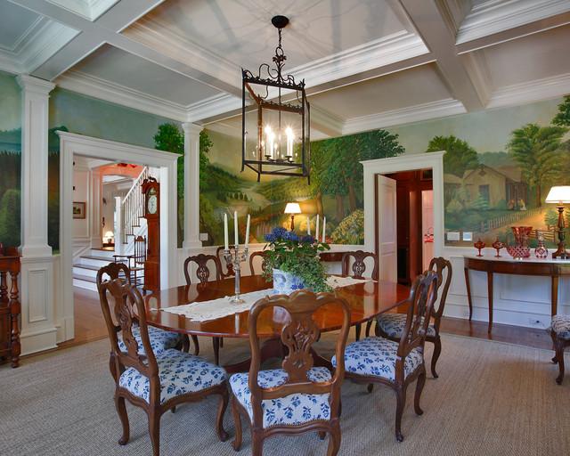 Smith Ridge I traditional-dining-room