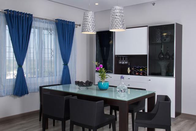 Sobha Althea Contemporary Dining Room Bengaluru by  : contemporary dining room from www.houzz.in size 640 x 426 jpeg 72kB