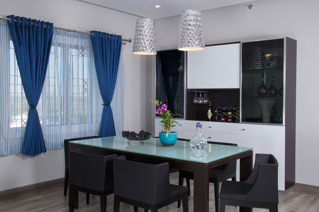 Sobha Althea Contemporary Dining Room Other Metro