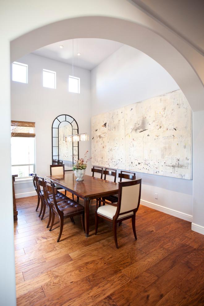 Foto di una sala da pranzo contemporanea