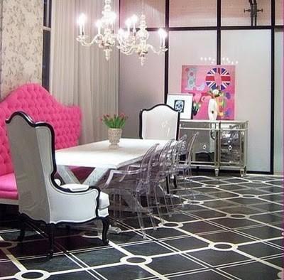 Soho Loft eclectic-dining-room