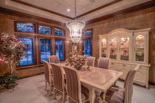 Sold in Oak Tree - Wyatt Poindexter KW Elite traditional-dining-room