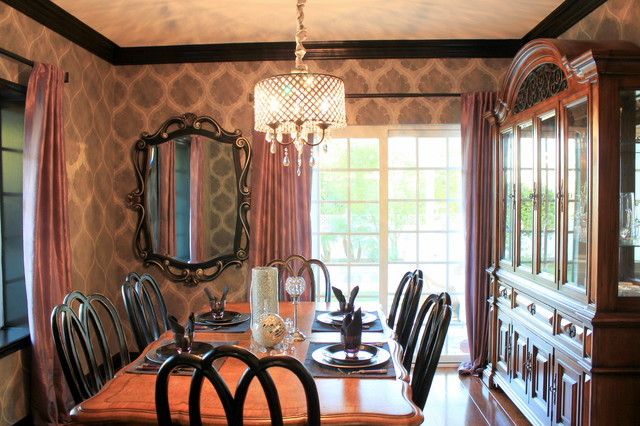 Somerset traditional dining room