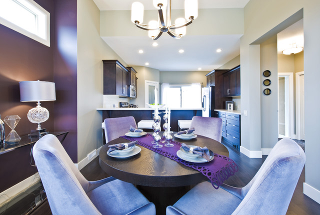 Purple Dining Room | Houzz