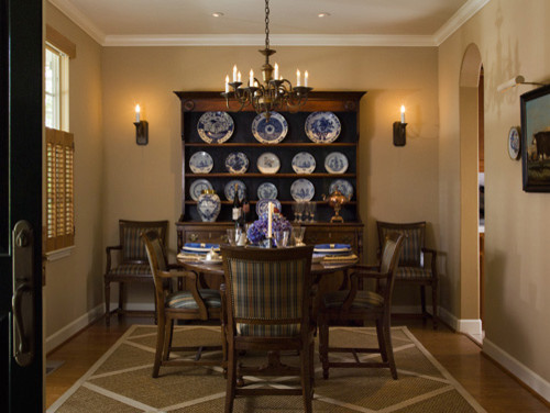 Sonoma Weekend Home traditional-dining-room