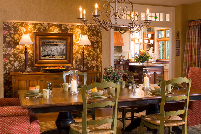 Sophisticated Lakeside Living Traditional Dining Room Boston By Home