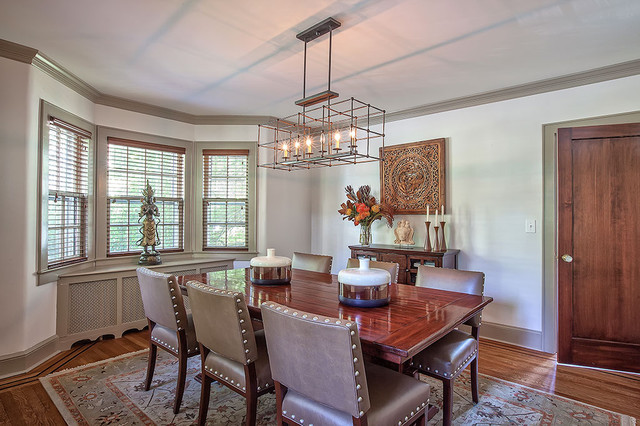 Sophisticated Suburbia   In Westchester! Contemporary Dining Room