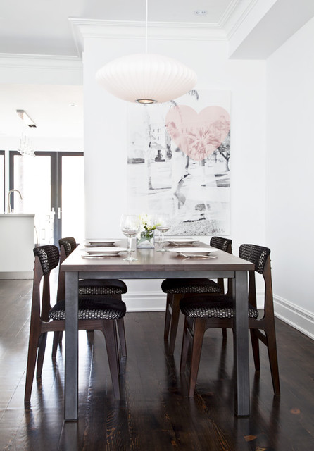 contemporary dining room by Palmerston