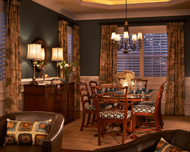 South charlotte house dining room traditional dining for Charlotte interiors
