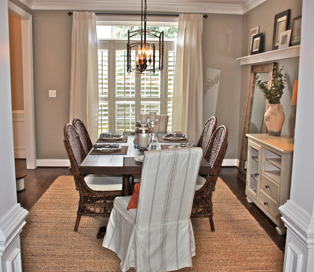 South Charlotte Remodel transitional-dining-room