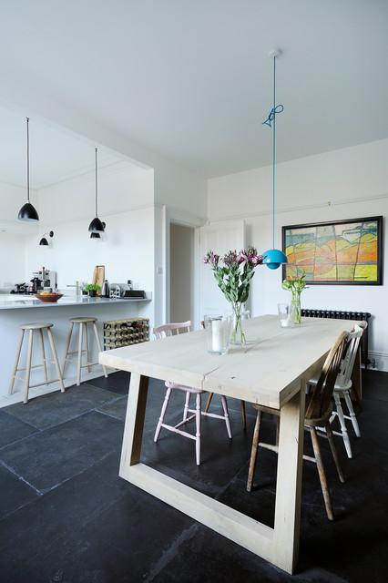 South Crown Street Dining Kitchen scandinave-salle-a-manger