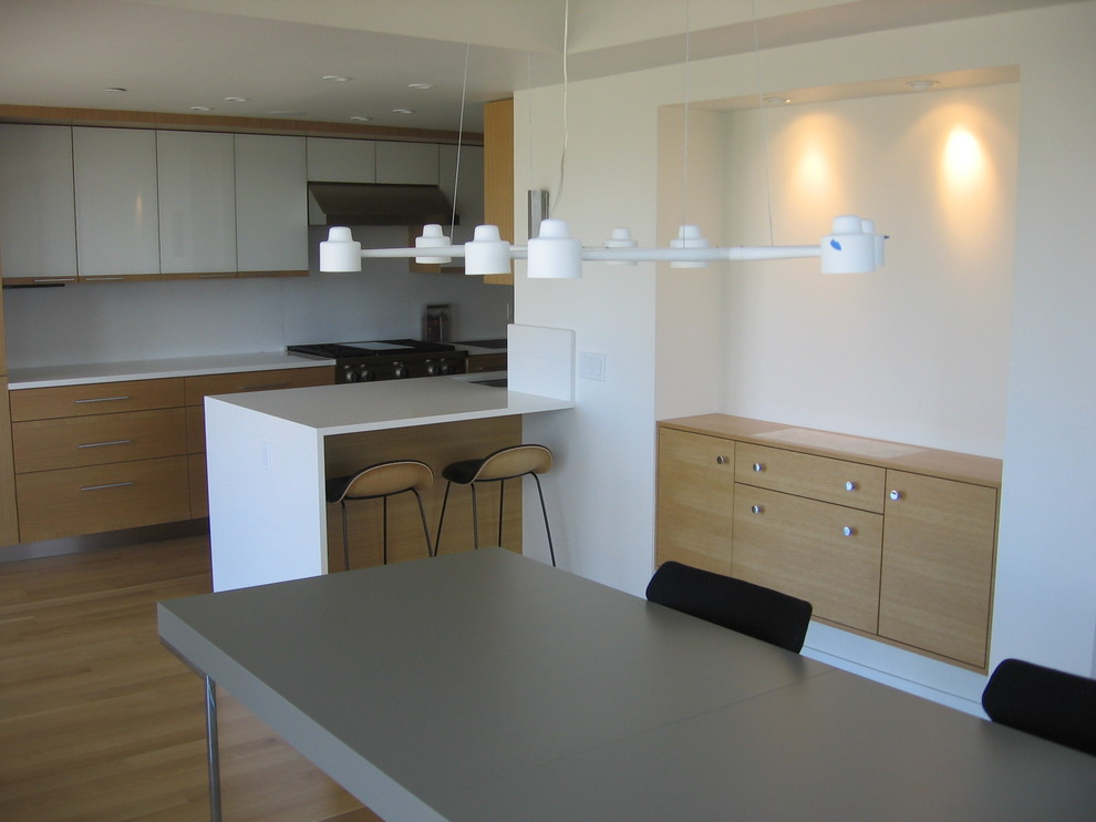 South End Contemporary - Contemporary - Dining Room - Boston - by South Shore Millwork