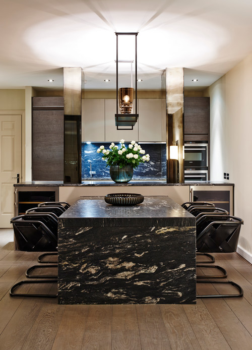 If You Like This Granite, Check Out These Other Countertop Choices: Mystery  Black Granite, Cosmic Black Granite, Supreme White Granite.