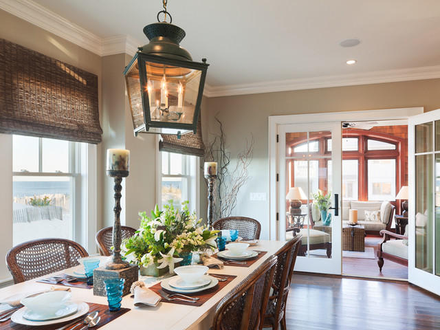 South Surf Road beach-style-dining-room