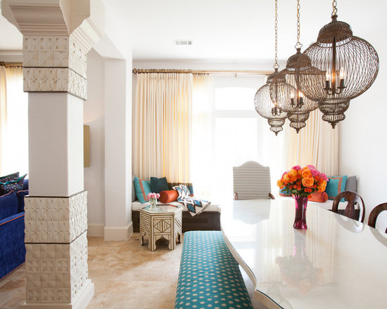 moroccan dining room home design ideas pictures remodel moroccan dining room houzz