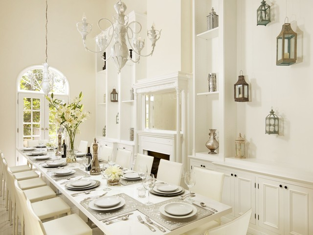 Southern California Homes contemporary-dining-room