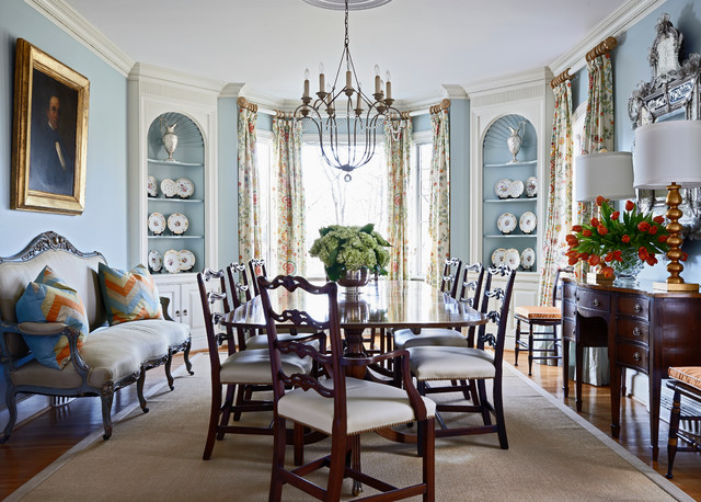 Southern Grace American Traditional Dining Room