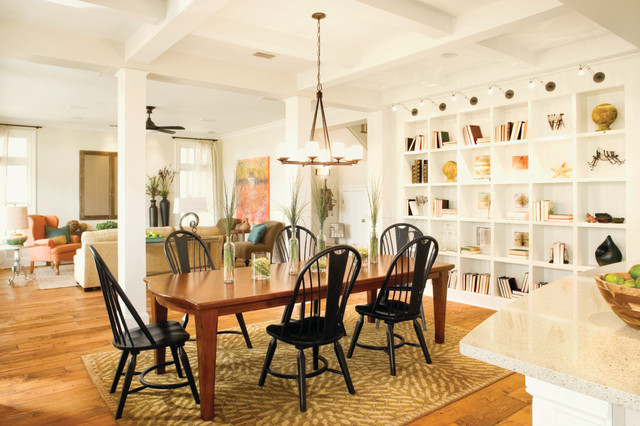 Southern Living Idea Home Transitional Dining Room Part 41