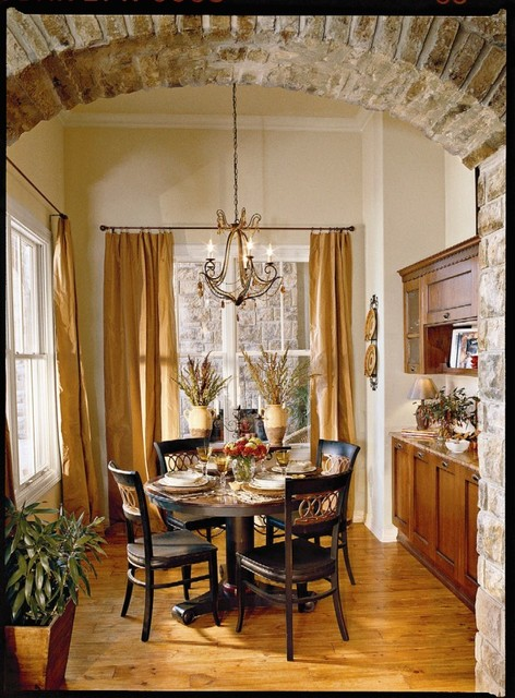 southern living idea home tropical dining room austin by