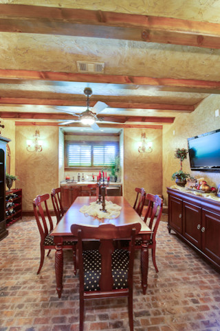 Southlake Estate With Basement traditional-dining-room