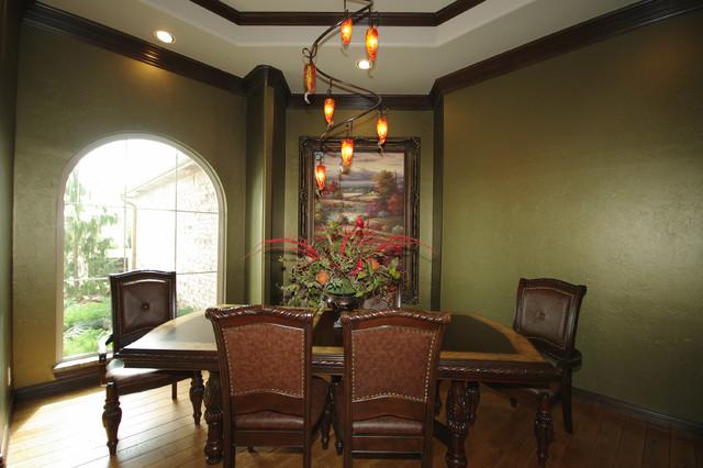 Southwest OKC Custom Home #2 traditional-dining-room