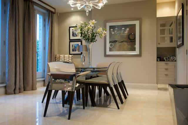 Spa townhouse contemporary dining room other metro for Best restaurants with rooms yorkshire