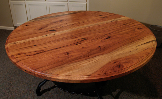 Spalted Pecan Dining Table By Devos Custom Woodworking