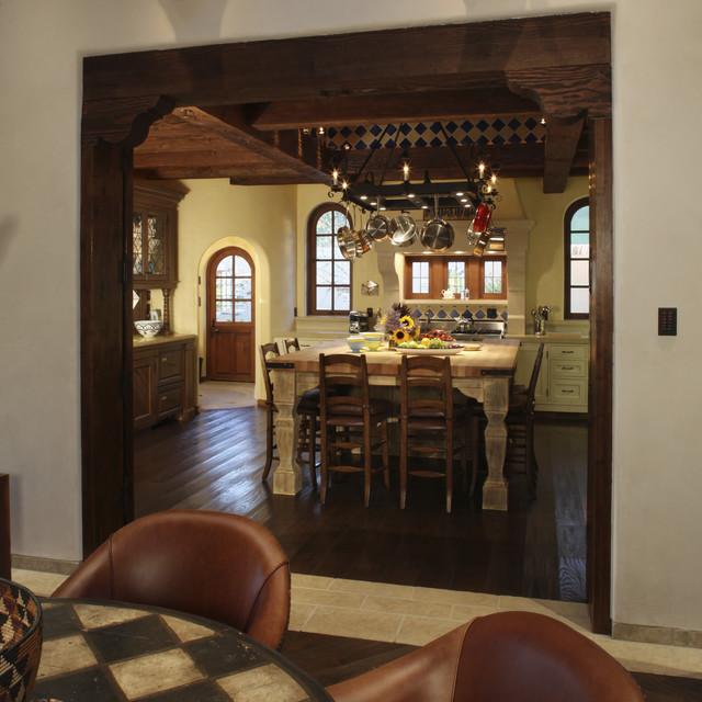 Colonial Dining Room: Spanish Colonial Hacienda, Carmel, California