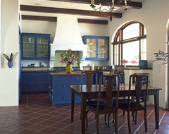 Spanish Colonial Retreat | Malibu Hills mediterranean-dining-room