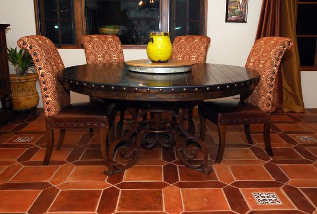 Spanish Dinner Table - Mediterranean - Dining Room - San Francisco - By Yana Mlynash | Kitchen & Bath Designer