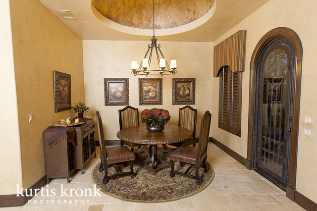 ... Mediterranean Dining Room Houston. on hacienda living room furniture