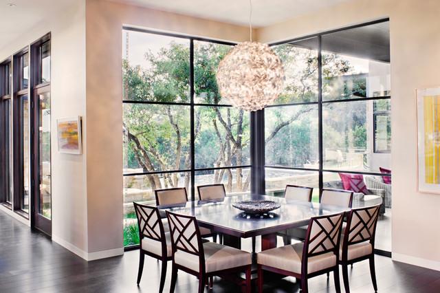 Spanish Oaks Custom Contemporary contemporary-dining-room