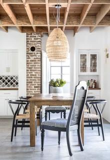 Spanish Revival House Mediterranean Dining Room