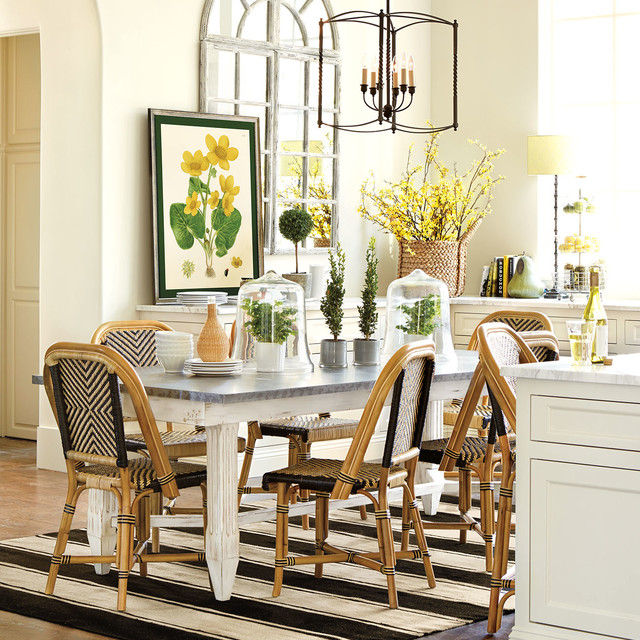 Spring 14 eclectic dining room atlanta by ballard for Eclectic dining room designs
