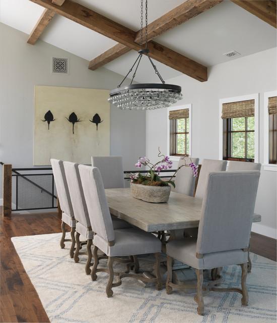spring creek classique chic salle manger autres p rim tres par snake river interiors. Black Bedroom Furniture Sets. Home Design Ideas