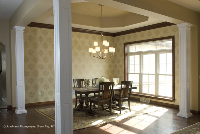 Spring Parade Iron Horse Way traditional-dining-room