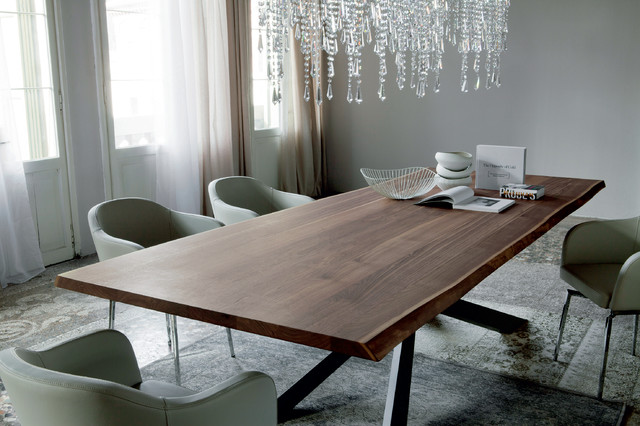 Spyder Wood Dining Table by Cattelan Italia - Contemporain - Salle à ...