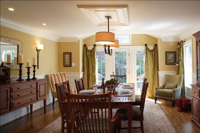 St Davids Residence Traditional Dining Room Philadelphia By Abby Schwartz Associates Llc