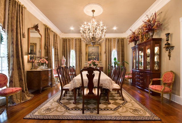 St. Francisville Modern Classic Traditional Dining Room