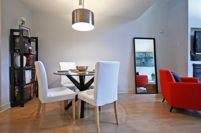 St. Lawrence Loft contemporary-dining-room