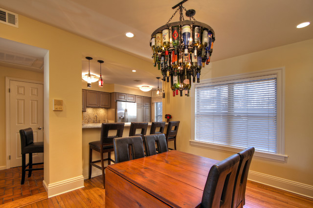 St. Louis Historic Condo Remodel contemporary-dining-room