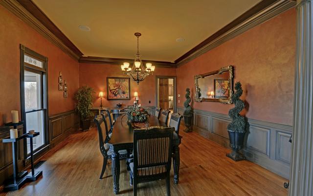 St. Marlo Golf & Country Club Custom Homes mediterranean-dining-room