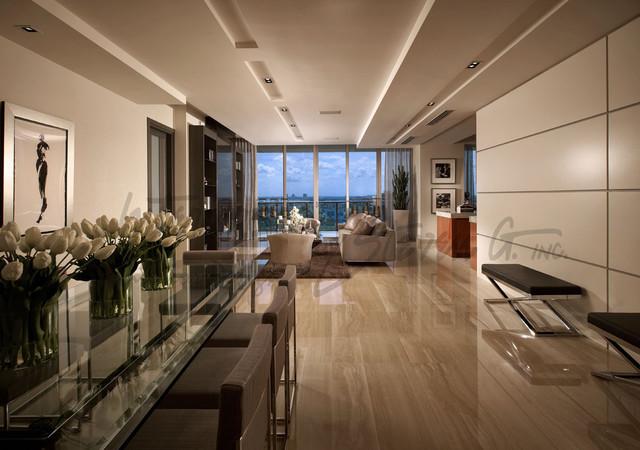 St regis bal harbour contemporary dining room miami for Steven g interior designs