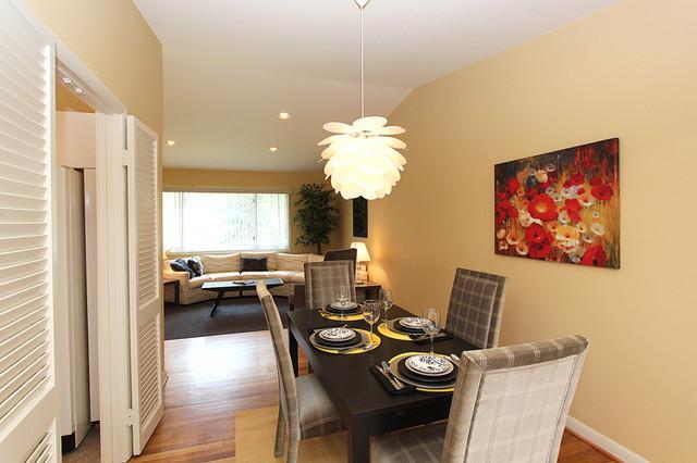 Staging - Caddington, SS contemporary-dining-room