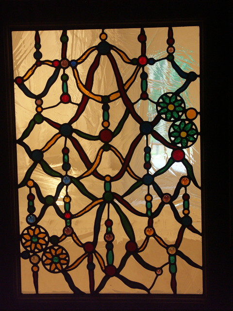 Stained glass windows - Traditional - Dining Room - Other - by Mark Levy Studio