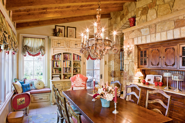 Stand Alone Home Traditional Dining Room Austin By