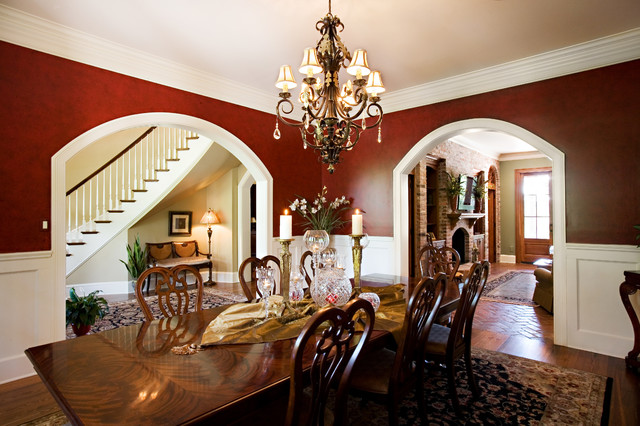 Stately Spring Lake Home traditional dining room