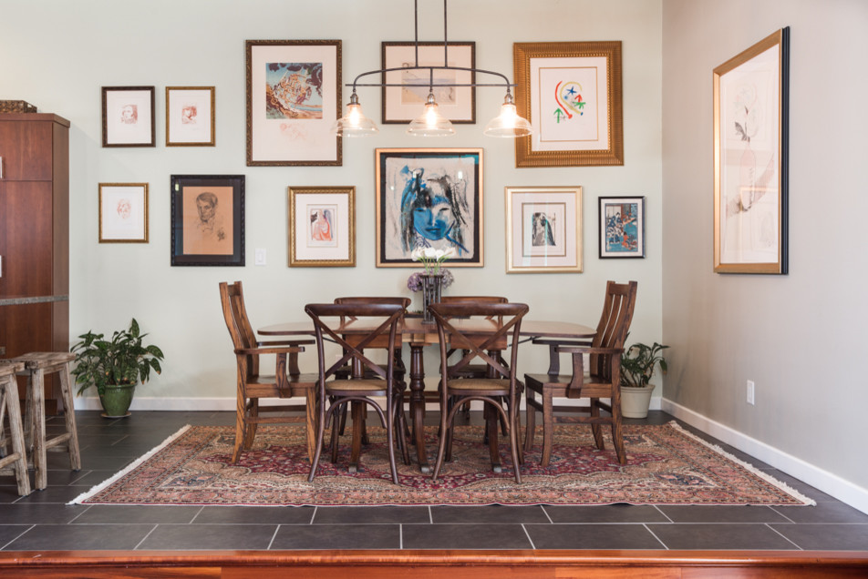 Sterling, IL | Dining & Living Room Transitional Design