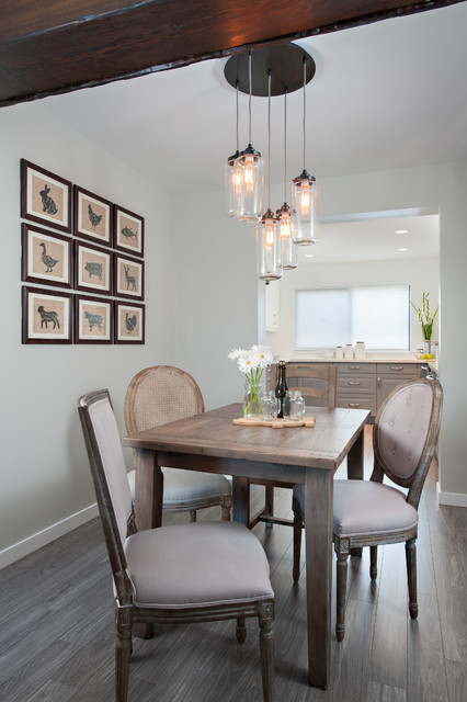 Steveston Townhouse Traditional Dining Room