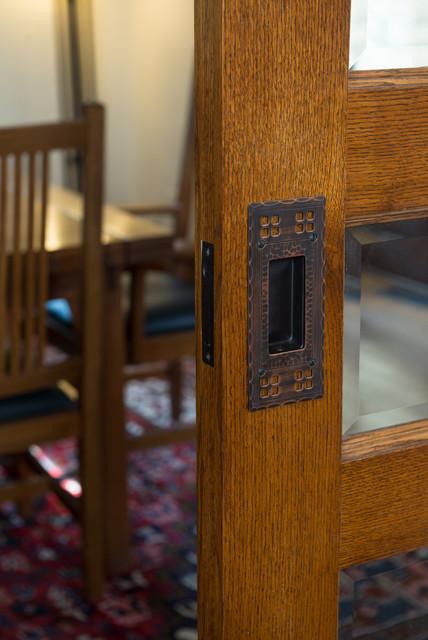 Stickley Inspired Kitchen craftsman-dining-room